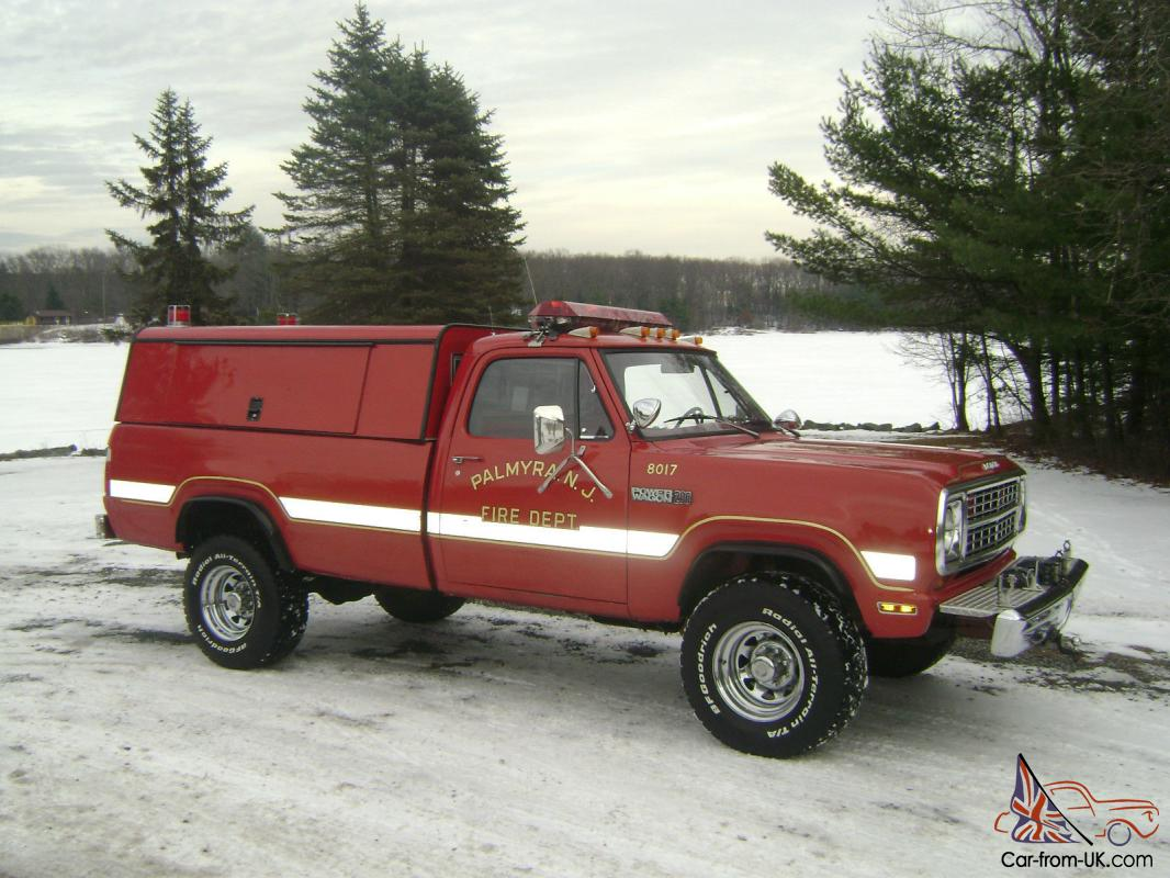 1979 dodge power wagon 200 pickup truck with 9 230. Black Bedroom Furniture Sets. Home Design Ideas