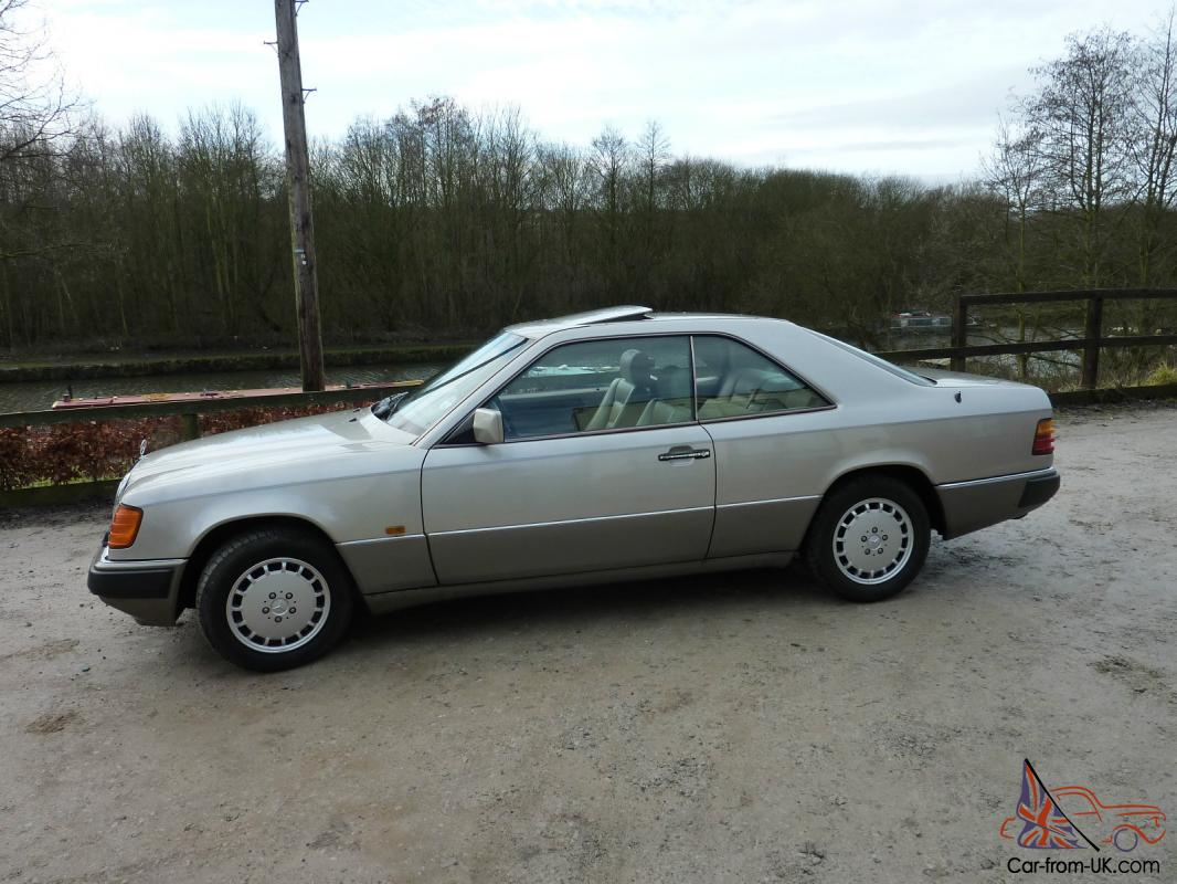 Mercedes 300ce 24 automatic pillarless coupe
