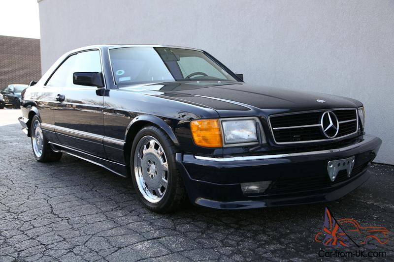 87 mercedes benz 560 sec amg only 73k w126 coupe good for Mercedes benz 560 sec amg for sale