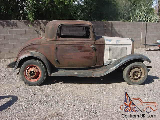 1932 ford 3 window coupe real henry ford steel For1932 Ford 3 Window Coupe Steel Body