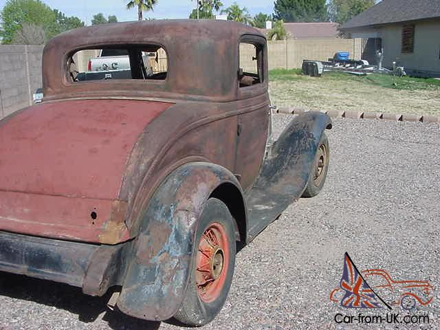 1932 ford 3 window coupe real henry ford steel for 1932 ford 5 window coupe steel body for sale