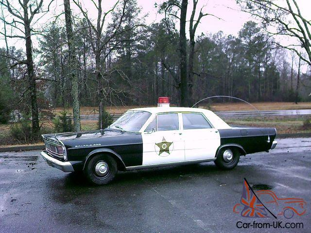 1965 Ford Galaxie 500 Mayberry Andy Griffith Patrol Car Clone Nip It In The Bud