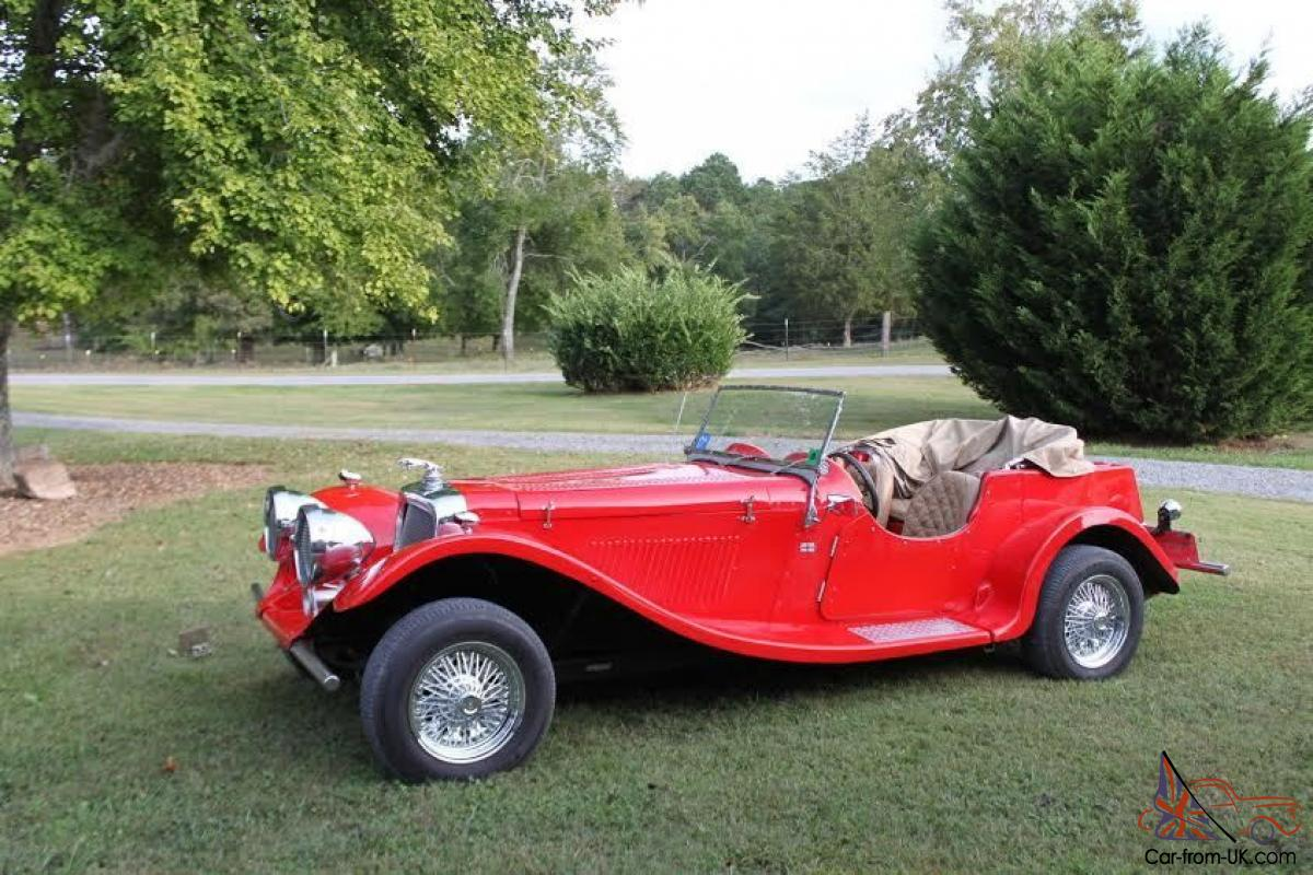 1937 Jaguar SS-100 Replica / Kit Car -- NO RESERVE ---- NO RESERVE