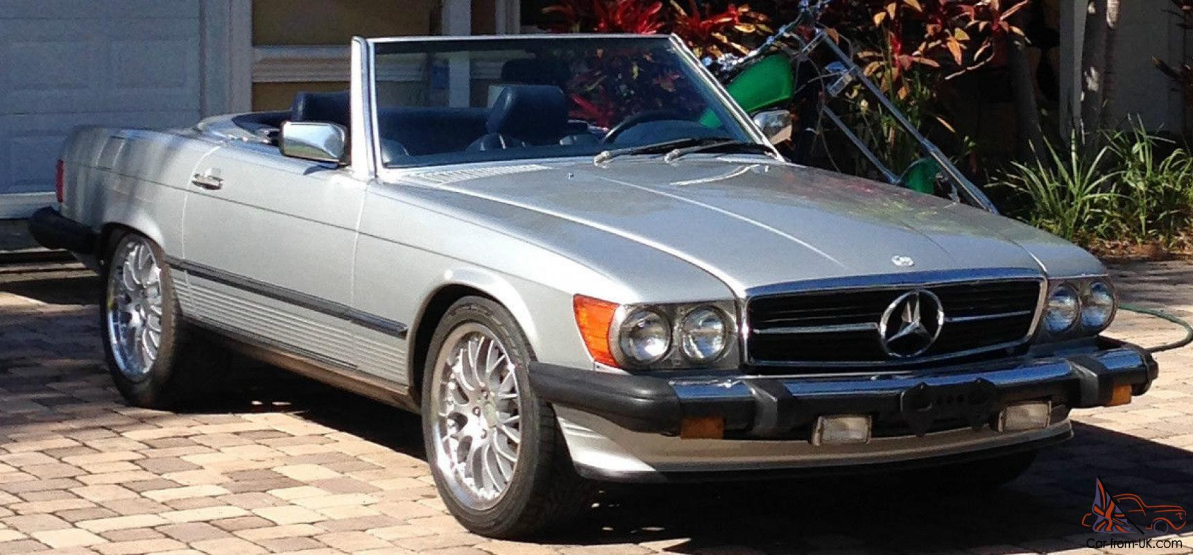 1987 MERCEDES 560SL EXCELLENT CONDITION REAL CLASSIC