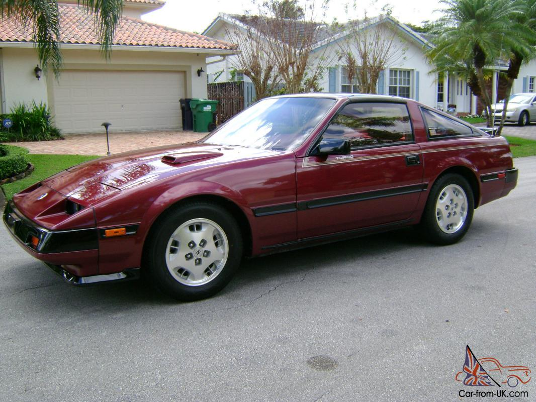 1985 nissan 300zx turbo 9490 orig mi burg burg 1 owner mint cond. Black Bedroom Furniture Sets. Home Design Ideas