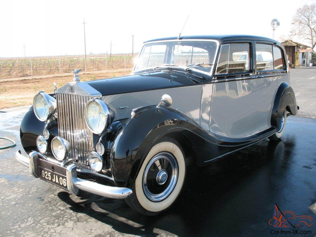 1951 rolls royce silver wraith milliner 7p limousine great. Black Bedroom Furniture Sets. Home Design Ideas