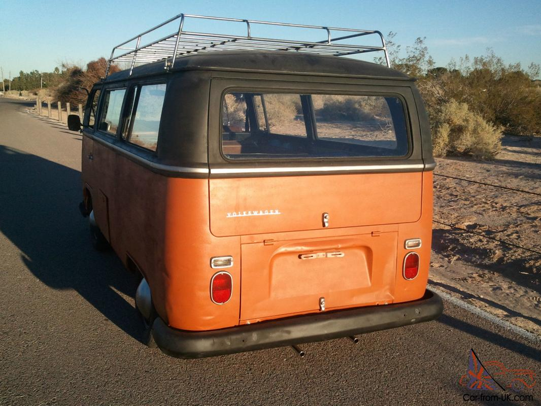 1968 volkswagen vw bus transporter bay window