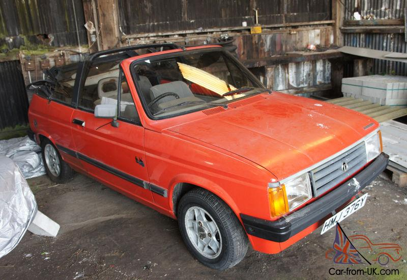 talbot samba cabriolet project 2 cars 1360 engines rare all red. Black Bedroom Furniture Sets. Home Design Ideas