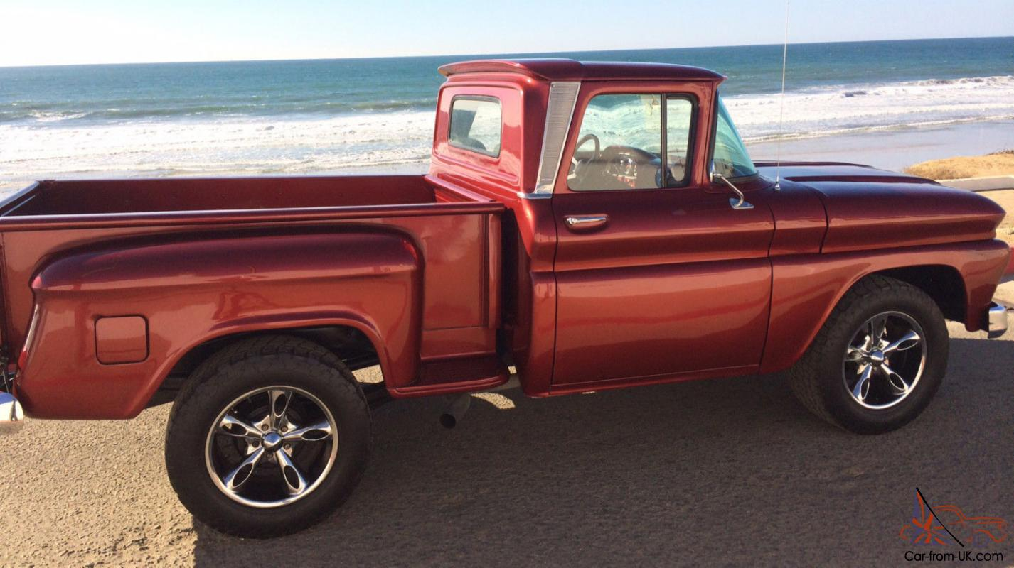 Chevy C10 Pickup For Sale 1962 Chevy C10, Pickup, Stepside, A/C, Auto, Pwr Steering, Pwr Brakes ...
