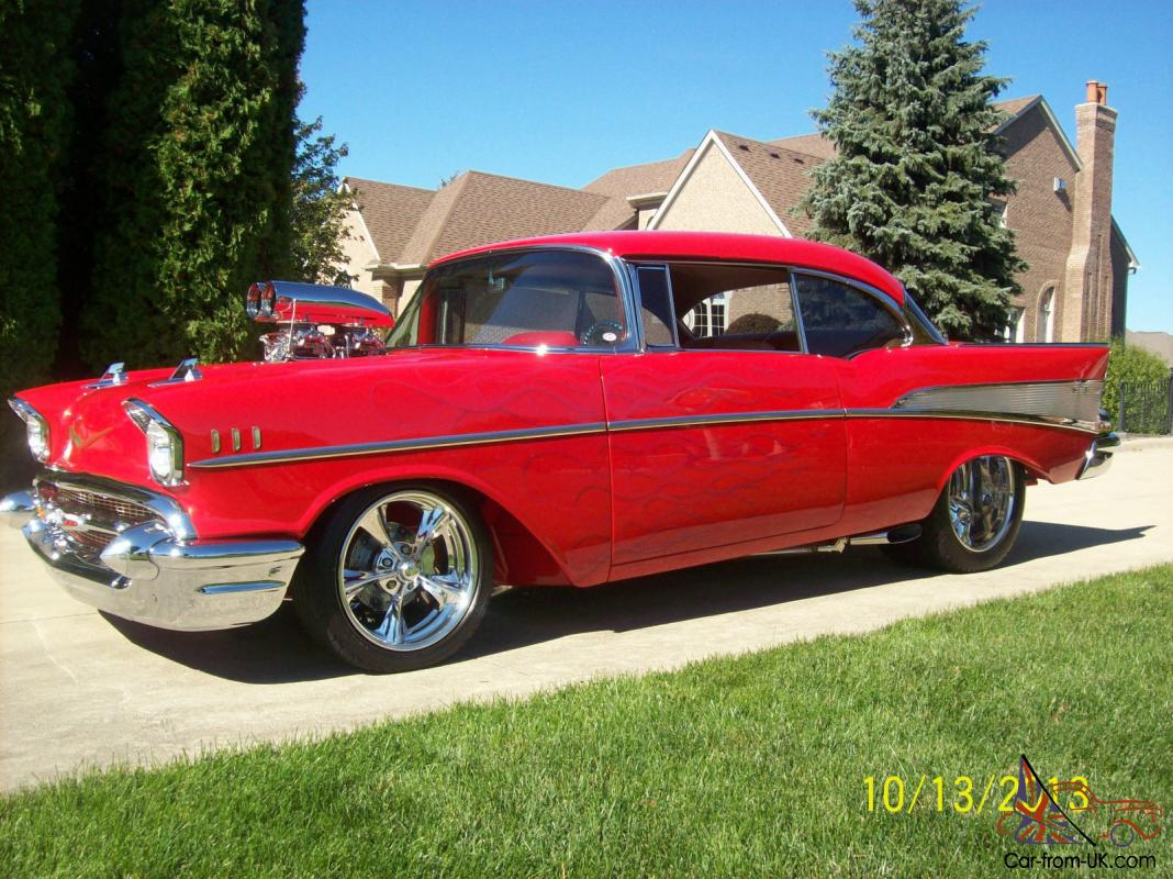 Chevys Of The 40s >> 1957 CHEVY BEL AIR STREET ROD PRO STREET PRO TOURING HIGH END SHOW CAR