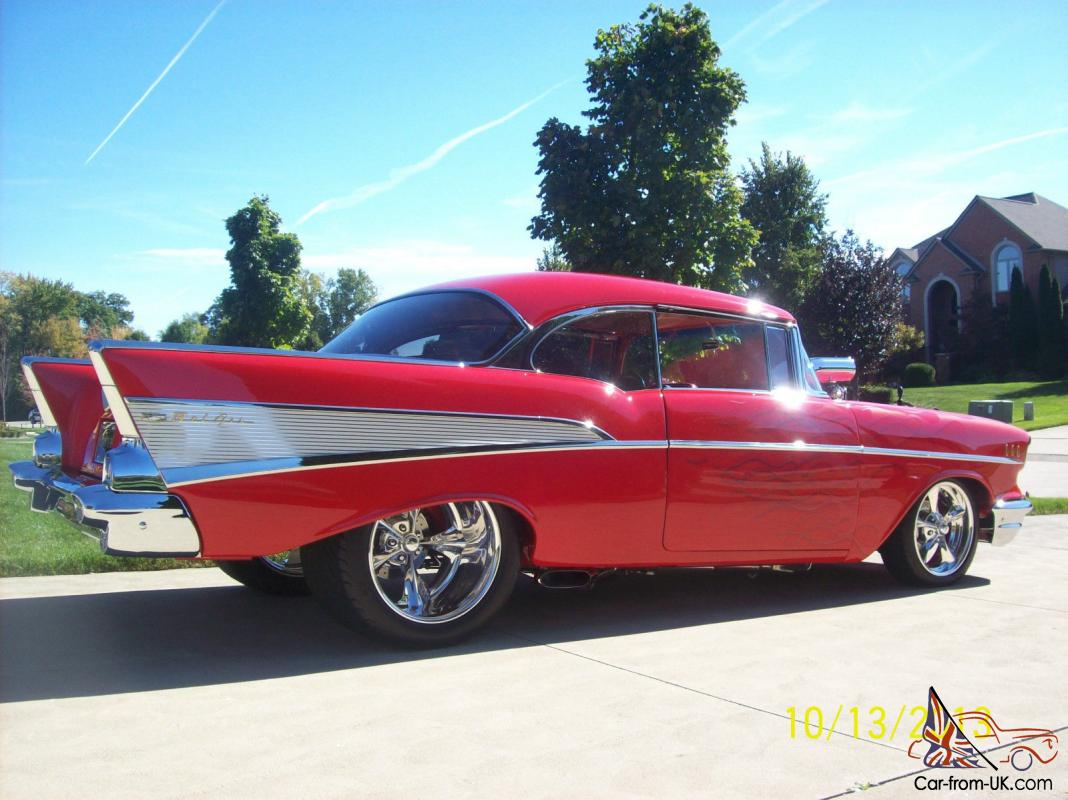 CHEVY BEL AIR STREET ROD PRO STREET PRO TOURING HIGH END SHOW CAR