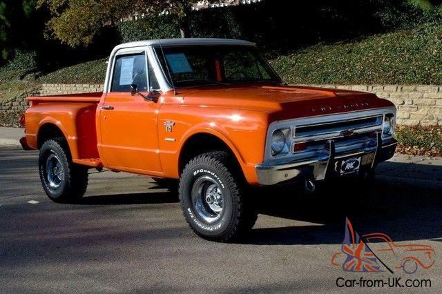 C10 Stepside 4x4 Automatic Factory Ac New Brakes