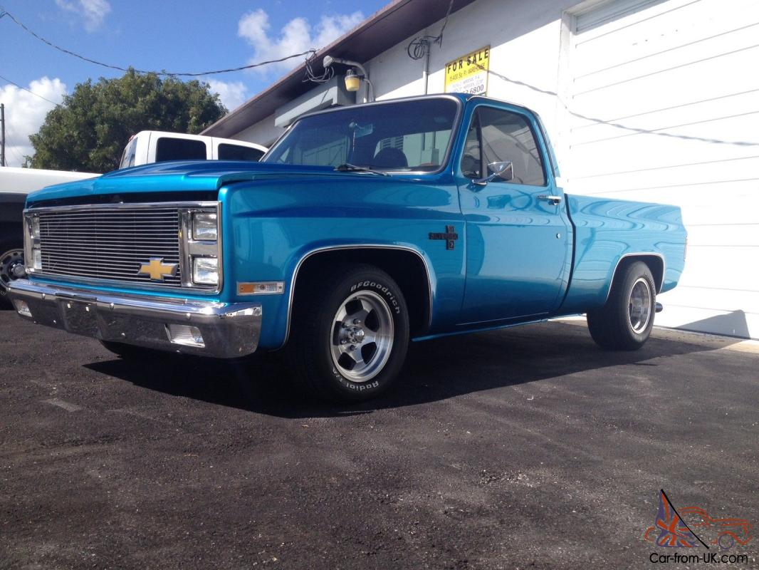 1983 Chevy C10 Custom Lowered