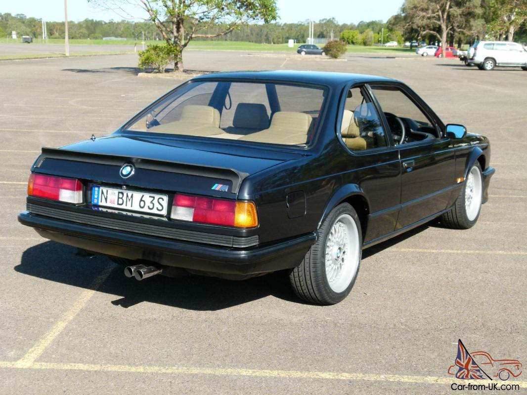 bmw 1985 e24 m635 black coupe m6 m635csi motorsport m power. Black Bedroom Furniture Sets. Home Design Ideas
