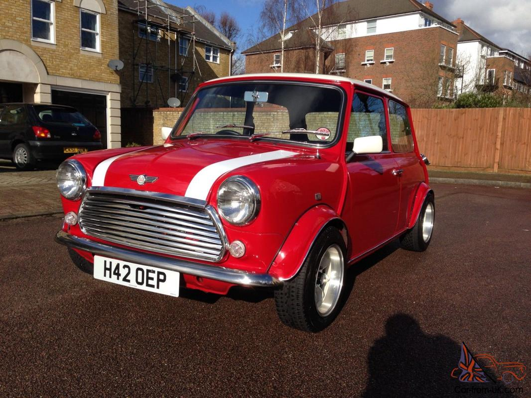 1990 Red Rover Classic Mini 1275 / IMMACULATE £1000's Spent /not Cooper /  Austin
