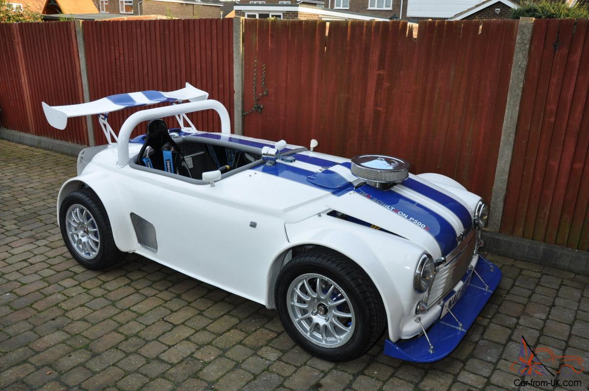 Mini v8 roadster Atom CrossBow Custom Track Day