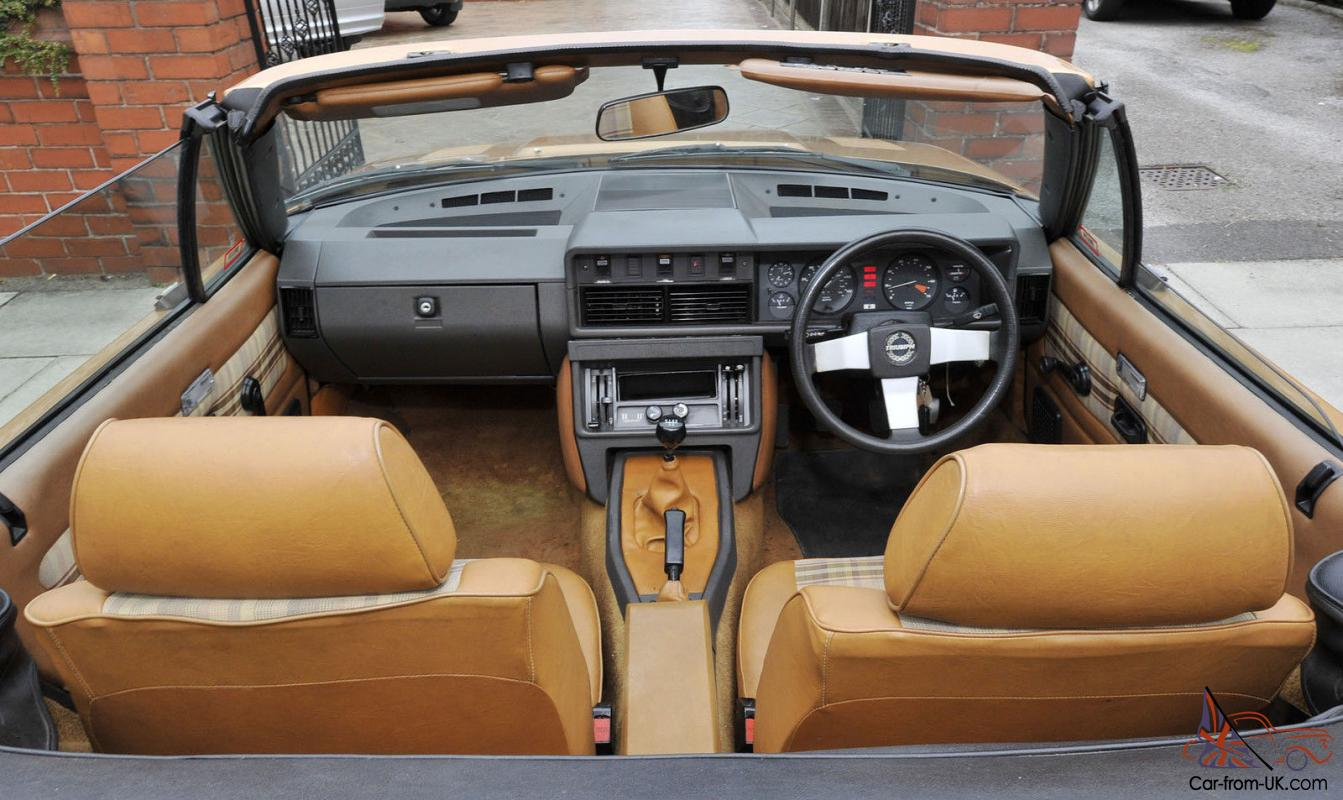 Triumph Tr7 Convertible Gold 1981 Stunning Restoration Show Car