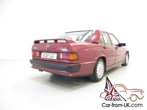 An outstanding mercedes 190e 2 5 16v cosworth with one for 190e rear window spoiler