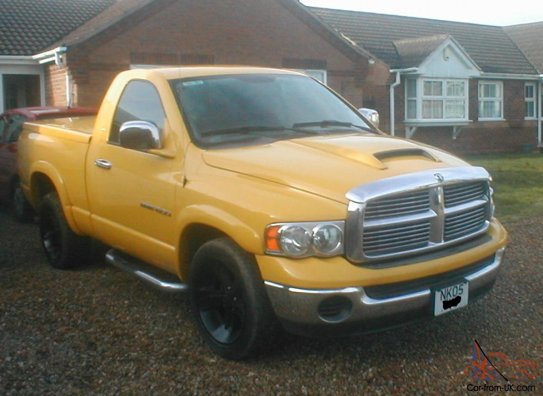 2005 dodge ram 1500 2wd yellow px for motorhome. Black Bedroom Furniture Sets. Home Design Ideas