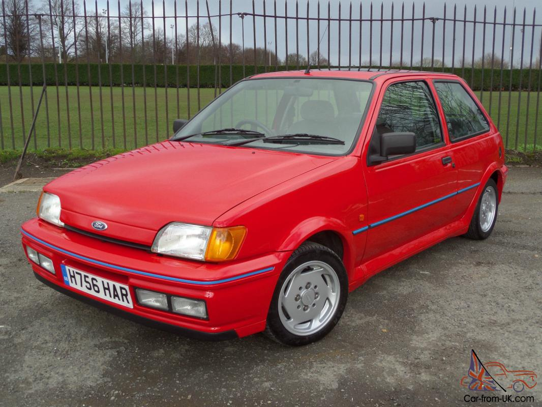 ford fiesta xr2i efi 1990 h 1 6 petrol outstanding. Black Bedroom Furniture Sets. Home Design Ideas