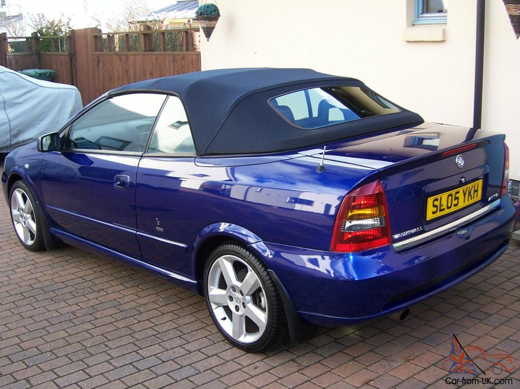 2005 vauxhall astra bertone exclusive horizon blue pearl. Black Bedroom Furniture Sets. Home Design Ideas