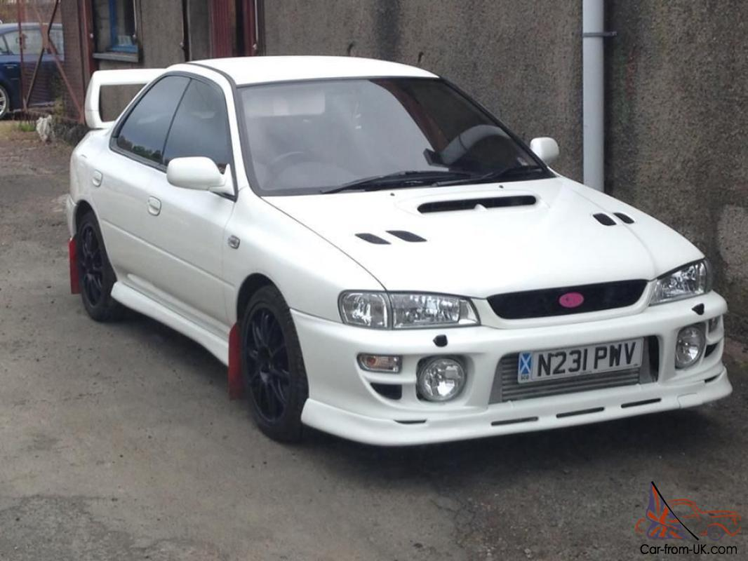 1995 Subaru Impreza Wrx Turbo White