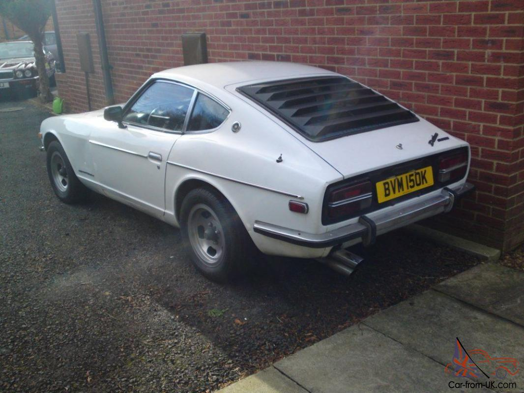 DATSUN 240Z LHD USA IMPORT SOLID UK REG TAXED TESTED USABLE CAR ...