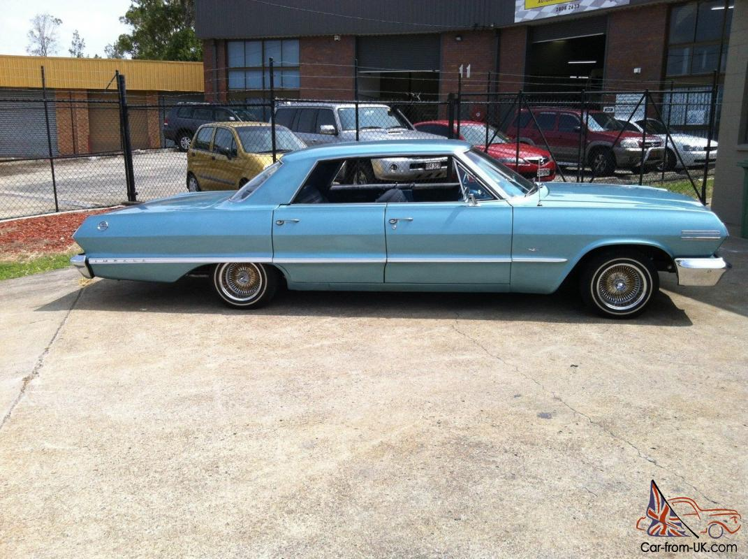 1963 chevrolet impala in regents park qld. Black Bedroom Furniture Sets. Home Design Ideas