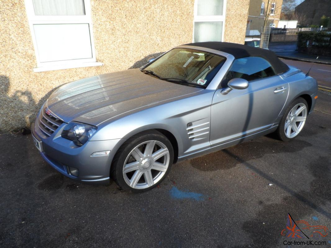 2006 chrysler crossfire auto convertible 55k fsh t t px. Black Bedroom Furniture Sets. Home Design Ideas
