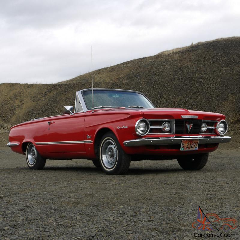 1964 Plymouth Valiant Converible With Classic Slant