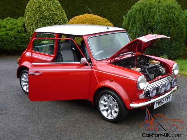 2002 rover mini cooper sport on 9400 miles from new. Black Bedroom Furniture Sets. Home Design Ideas