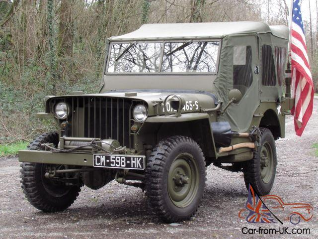 1942 Willys Mb Jeep 12v Us Wwii Ford Gpw Stunning