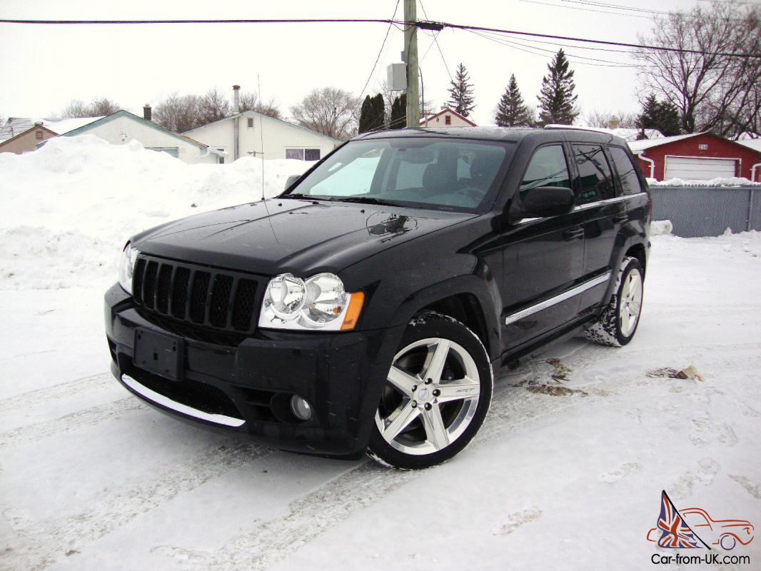jeep grand cherokee srt8 nav clean history rare low miles black. Black Bedroom Furniture Sets. Home Design Ideas