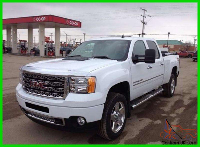 gmc sierra 2500 denali turbo diesel 4x4 crew cab with warranty. Black Bedroom Furniture Sets. Home Design Ideas