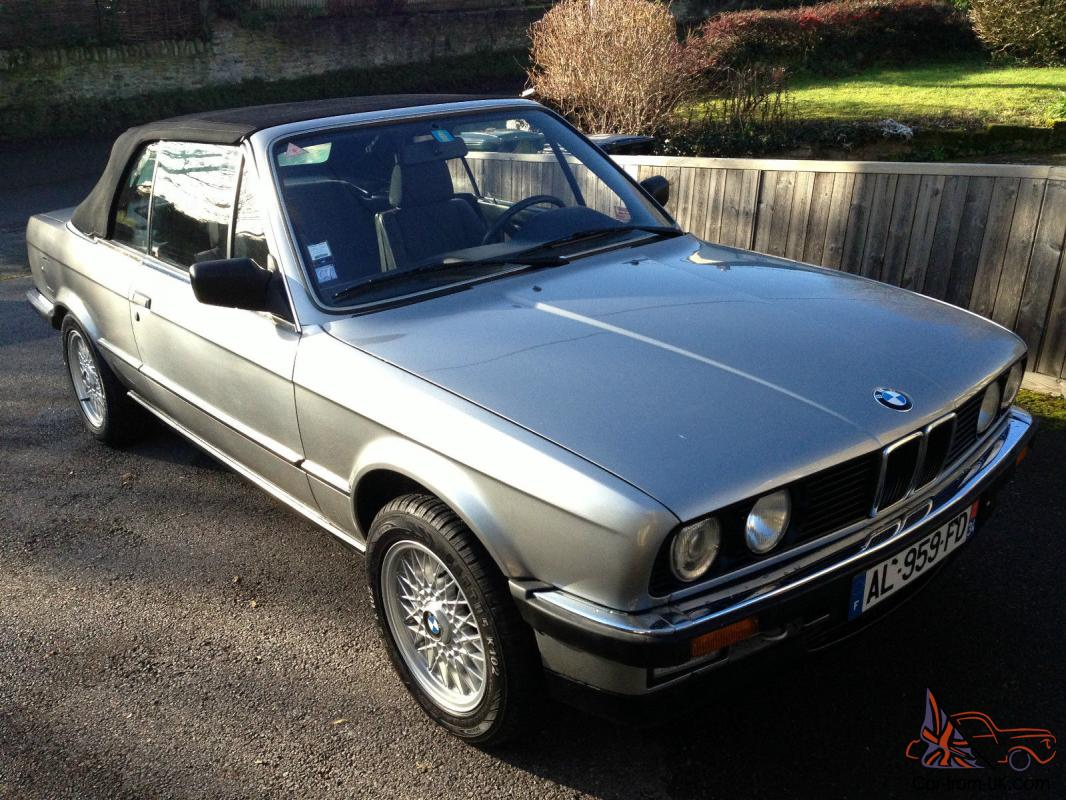 stunning low mileage bmw e30 325 lhd convertible. Black Bedroom Furniture Sets. Home Design Ideas