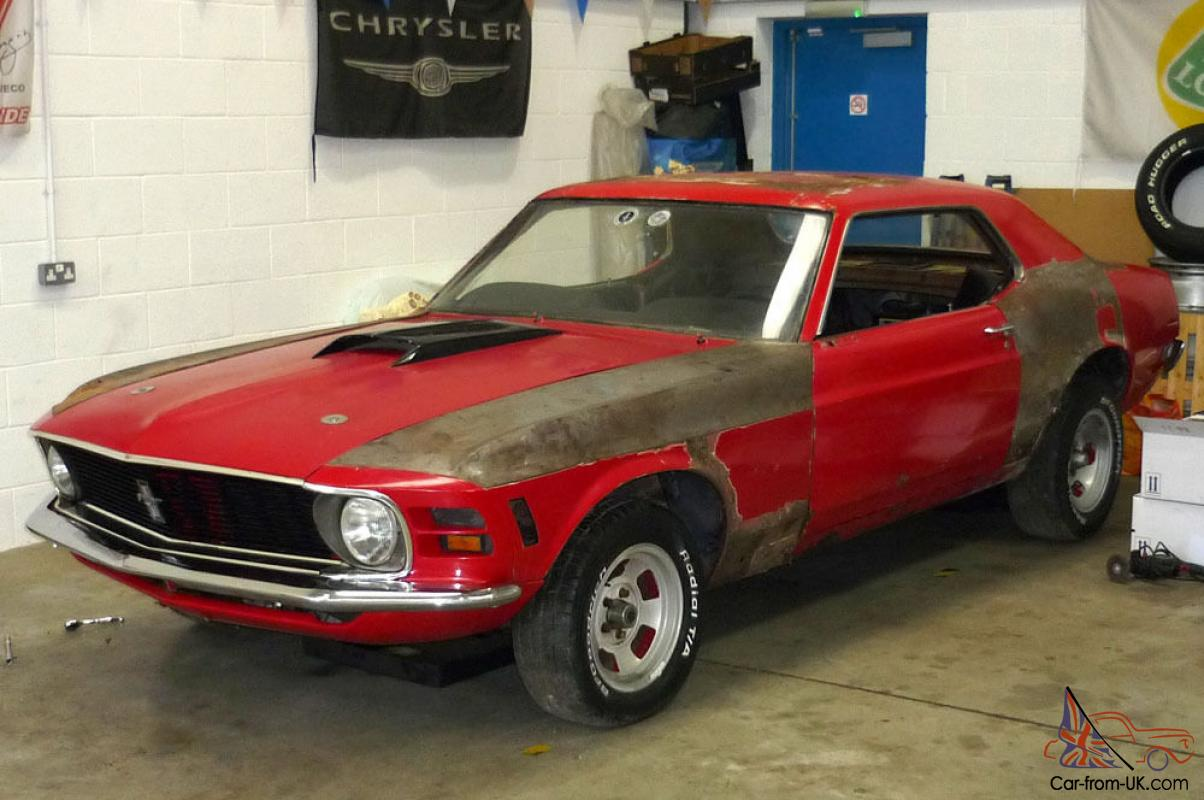 1970 Ford Mustang 351 V8 Auto, Complete Car, Tax exempt, Restoration ...