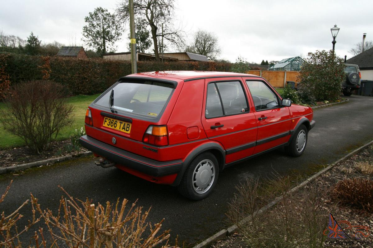 vw golf gti mk2 5 door one family from new 61 000 miles. Black Bedroom Furniture Sets. Home Design Ideas