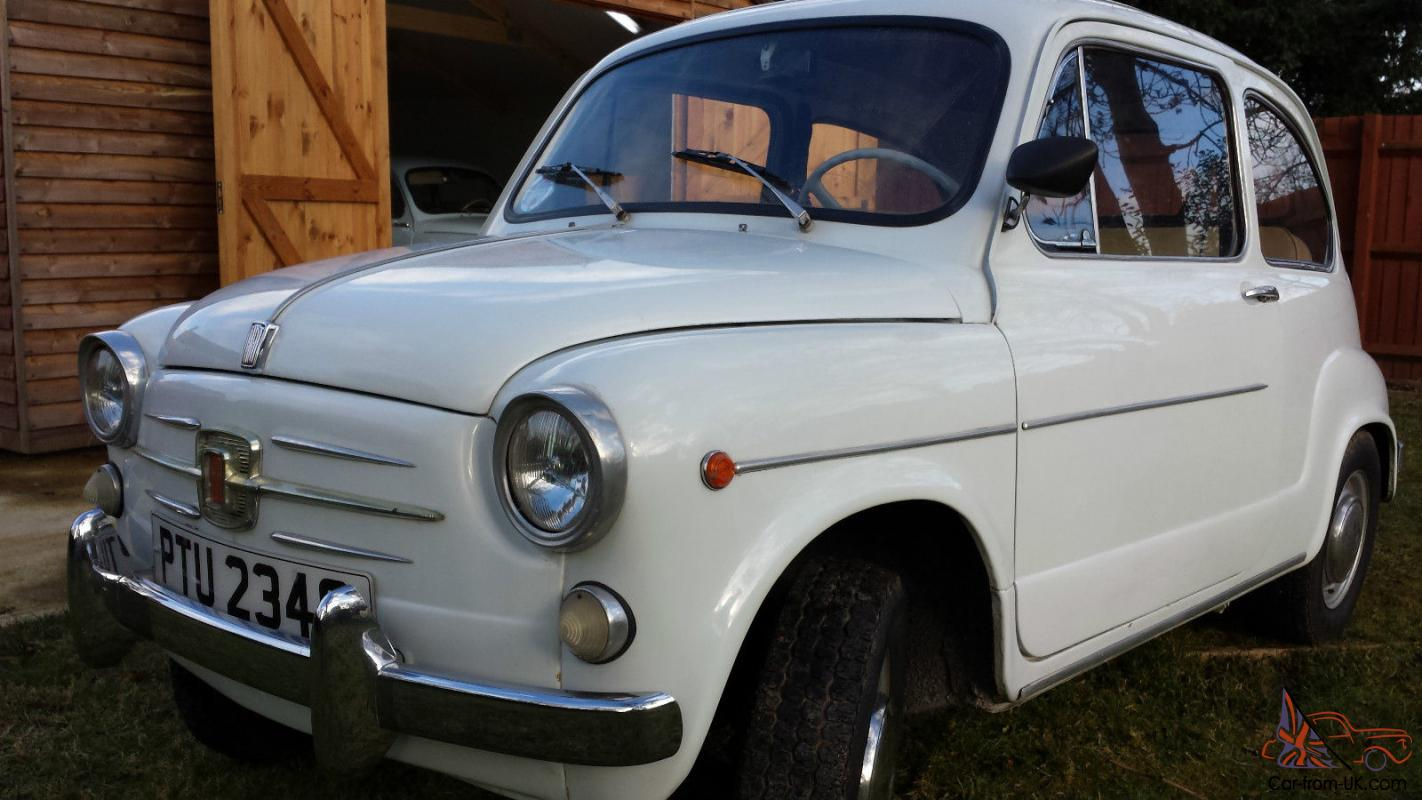 classic fiat 600d not fiat 500 in excellent condition. Black Bedroom Furniture Sets. Home Design Ideas