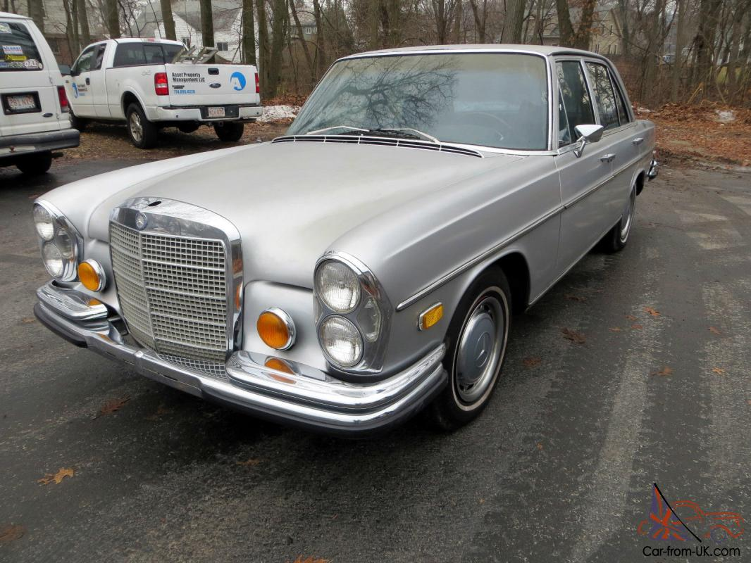 Mercedes benz s class 280se 4 5 w108 for Mercedes benz w108 for sale
