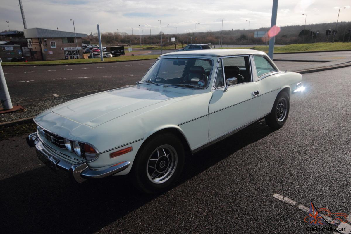 TRIUMPH STAG mark 1, 1971 with TR6 engine