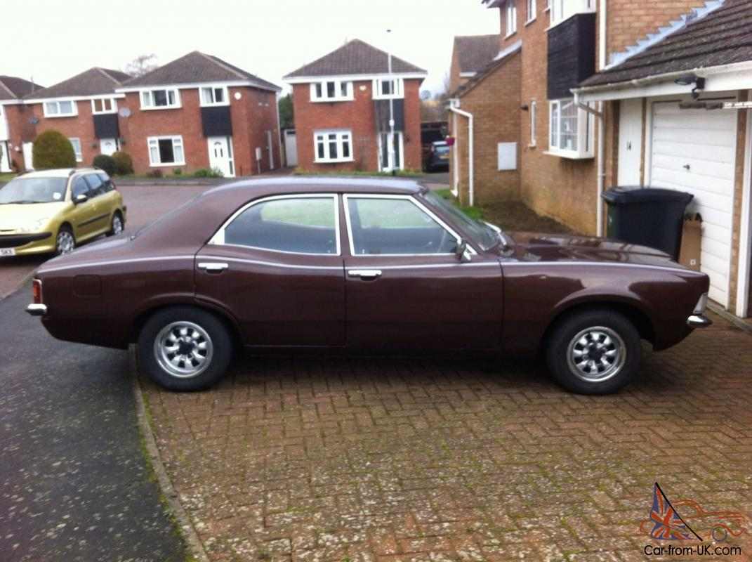 cortina mk3 1972 (k) mot'd, good runner. 2.3 6v