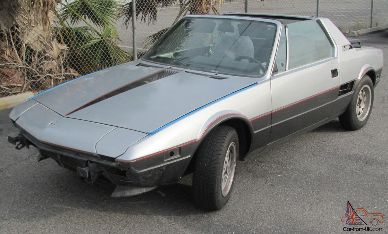 miles only fiat brand bertone new finale for sale grand