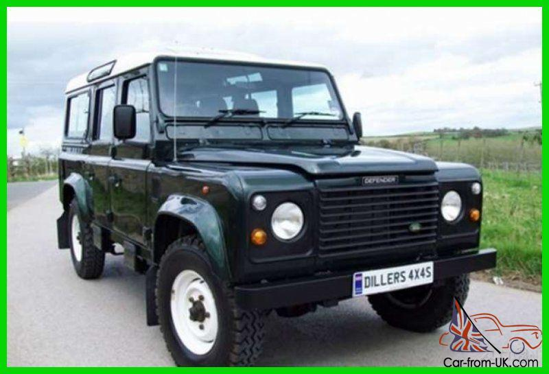 land rover defender 110 suv diesel 4x4 right hand drive. Black Bedroom Furniture Sets. Home Design Ideas