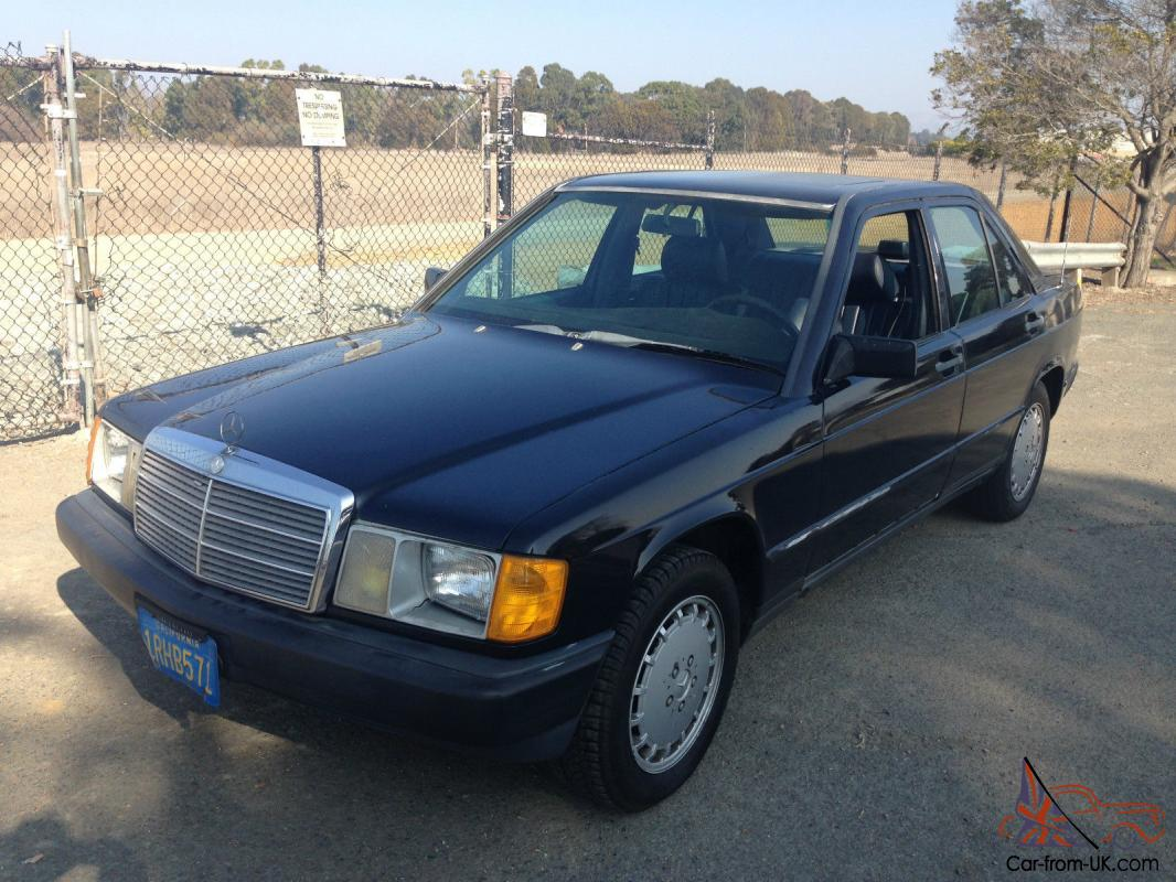 Mercedes benz 190 series 190d for Mercedes benz 190 for sale
