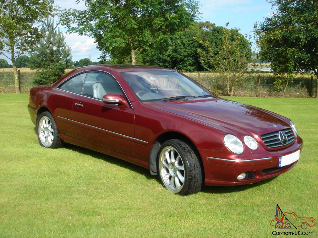 2001 mercedes cl500 auto titanite red distronic low for 2001 mercedes benz cl500 for sale