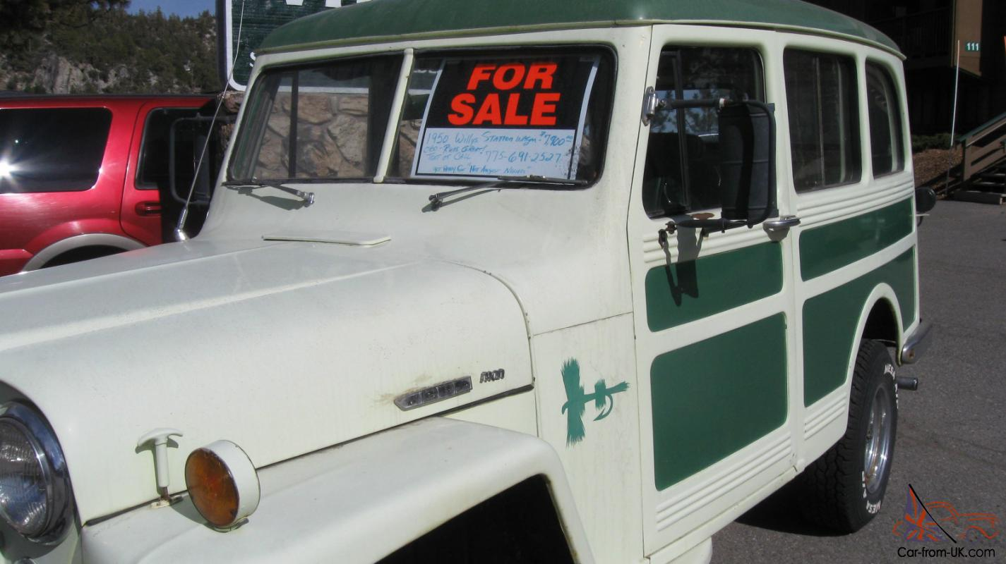 1950 Willys Jeep Station Wagon for sale
