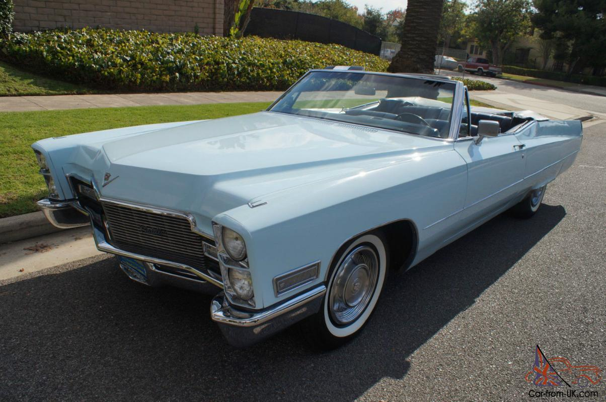 cadillac deville 472 375hp v8 convertible. Black Bedroom Furniture Sets. Home Design Ideas