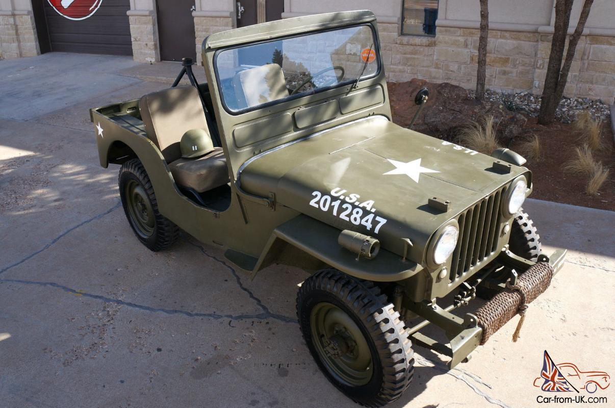 Willys Cj3a Wiring Diagram Military Jeep Cj 3a
