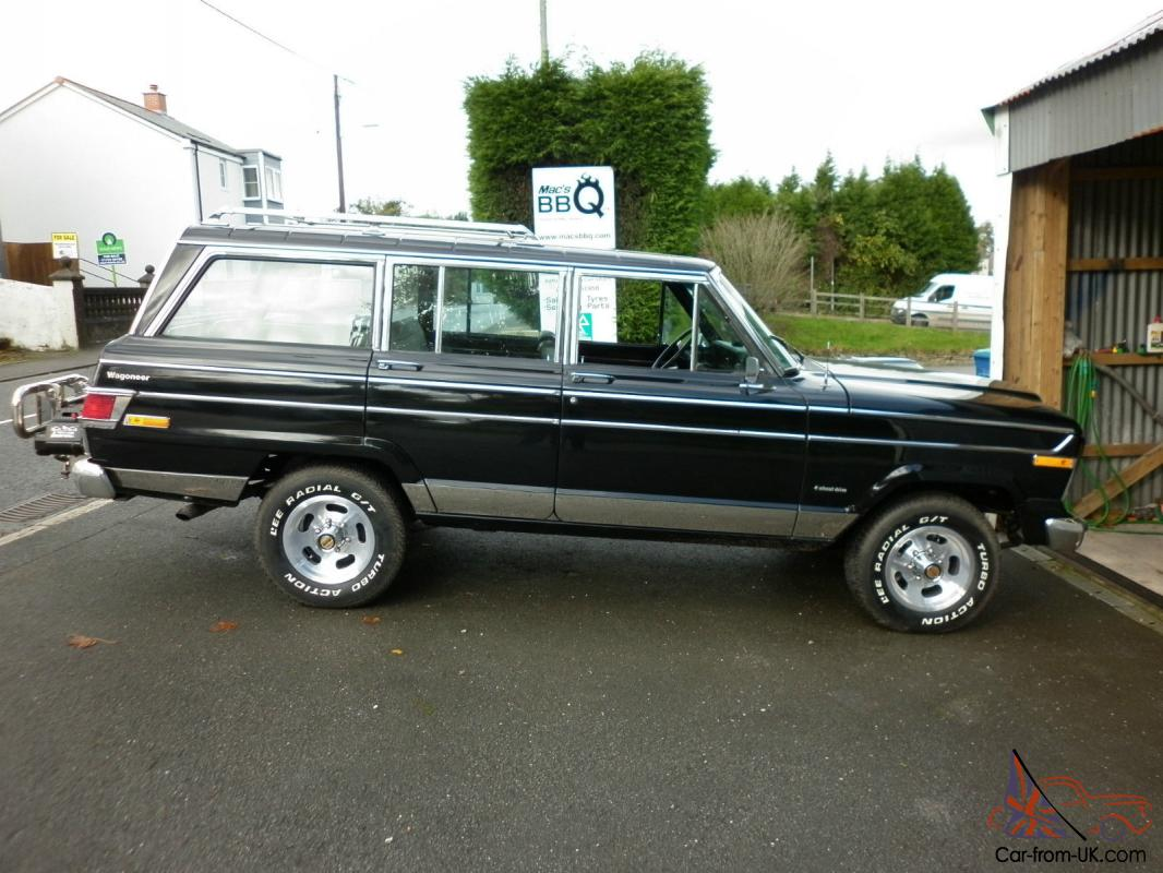 American 1979 Jeep Wagoneer 4 X 4 Fully Restored