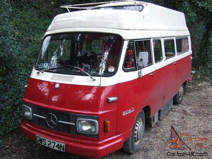 Mercedes 206d for sale for Mercedes benz camper vans for sale